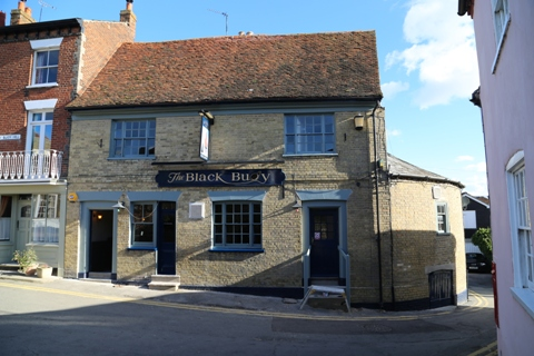 The re-opened pub